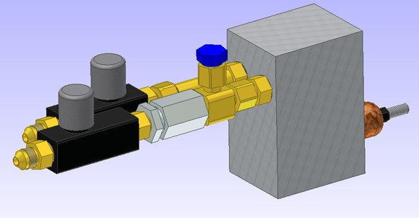 BLOCK VALVE WITH FLOW CONTROL