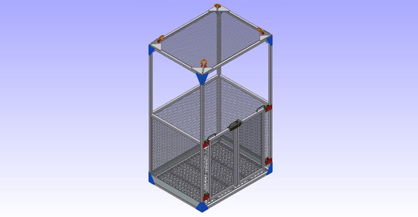 ALUMINUM DIVING CAGE